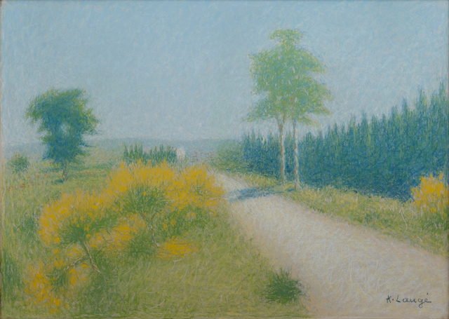 , 'Chemin aux environs de Cailhau,' ca. 1923, Daphne Alazraki Fine Art