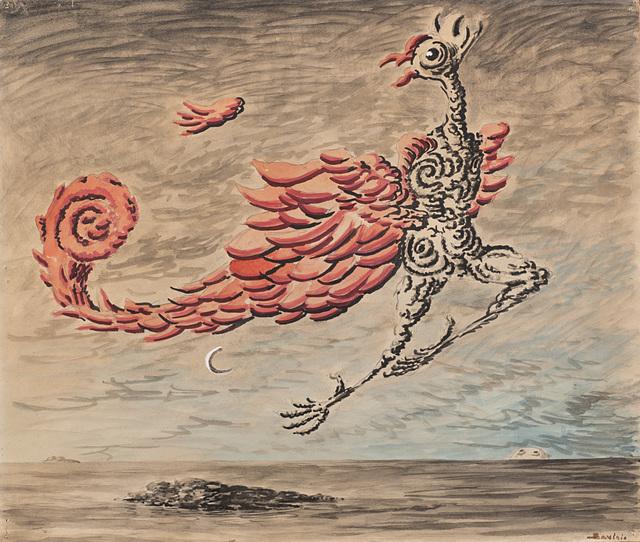 Alberto Savinio, 'L'uccello di fuoco', 1949, Il Ponte