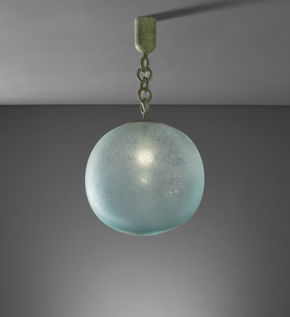 Seguso, 'Ceiling light', 1940s, Phillips