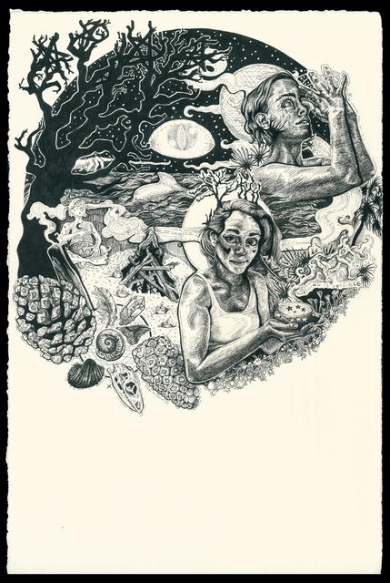 , 'Caper's Island,' 2017, The Southern