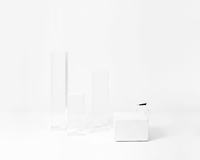 , 'Untitled (5 roman Bronzes, anonymous),' 2014, Galerie Christophe Gaillard