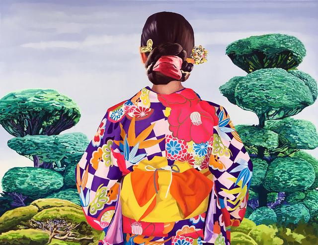 , 'Japonesa Morada,' 2017, Victor Lope Arte Contemporaneo