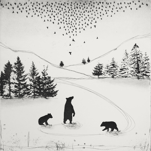 , 'Bear Witness,' 2015, Glasgow Print Studio