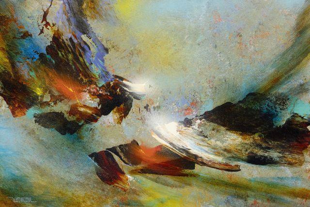 Leonardo Nierman, 'Wind Of Springtime', Koller Auctions