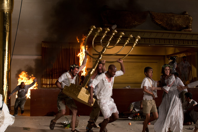 , 'Inferno (production still),' 2013, Biennale of Sydney