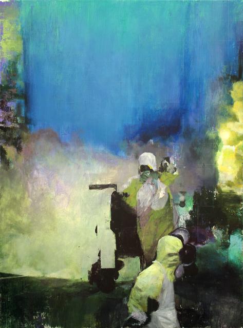 , 'Gefolfgschaft,' 2015, Parafin