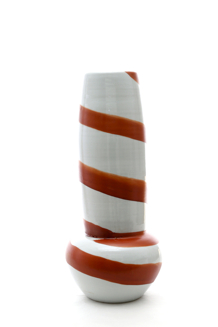 , 'Vase with spiral brush pattern,' 2015, Ippodo Gallery
