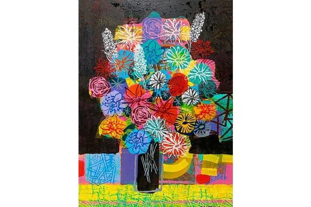 David Gerstein, '20.20', 2020, Painting, Acrylic on canvas, Galerie Duret