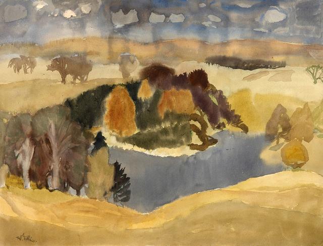 , 'Rosebery near Temple,' ca. 1960, The Scottish Gallery