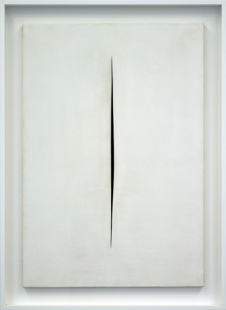 , 'Concetto spaziale, Attesa,' 1964, Rachofsky Private Collection