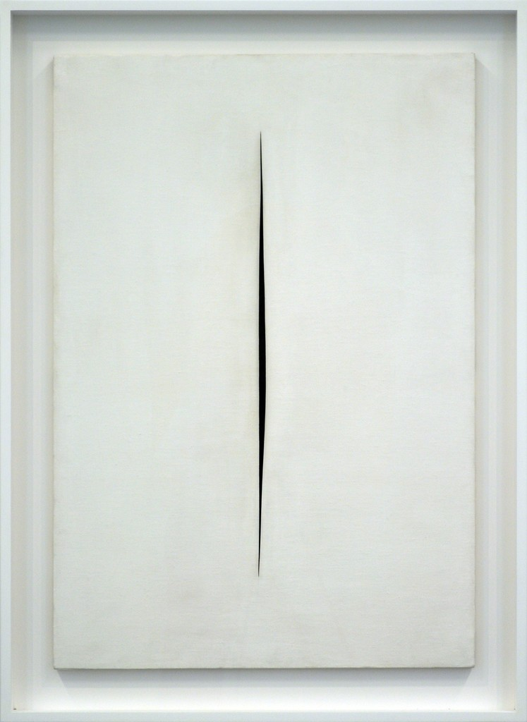 Lucio Fontana, 'Concetto spaziale, Attesa,' 1964, Rachofsky Private Collection