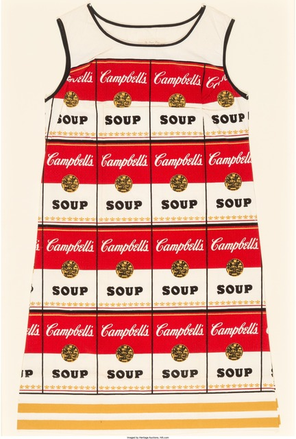 Andy Warhol, 'Souper Dress', circa 1968, Heritage Auctions