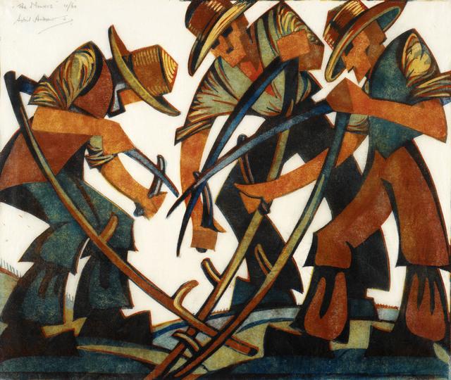 , 'Mowers,' 1937, Osborne Samuel