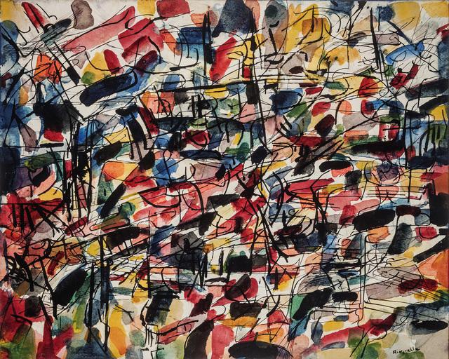 , 'Sans-Titre,' ca. 1953, Canadian Fine Arts