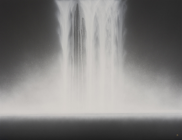, 'Waterfall,' , Gallery Art Composition