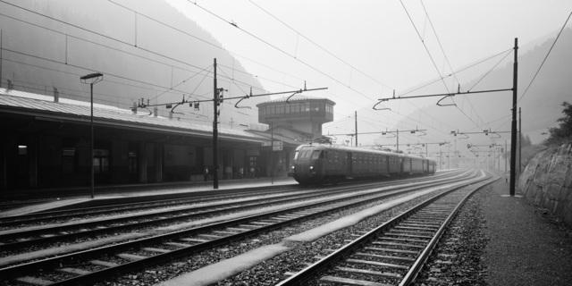 , 'Brennero Train Station - Trentino Alto Adige, Italy,' 1993, TAG TheArtGallery