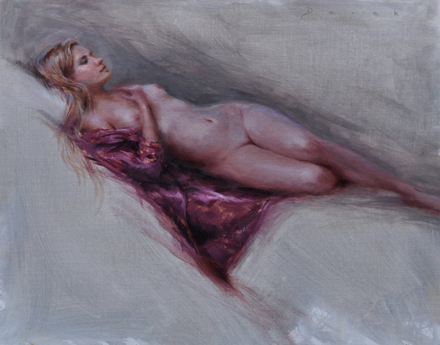 , 'Violet,' , Abend Gallery