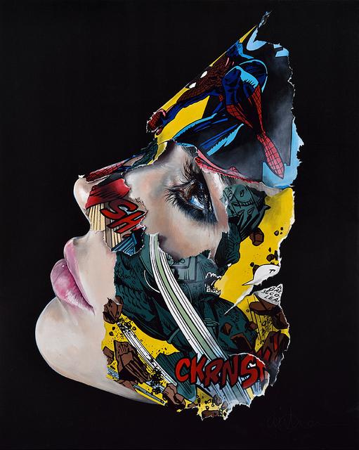 , 'La Cage et l'éveil de l'ombre,' 2017, Galerie C.O.A