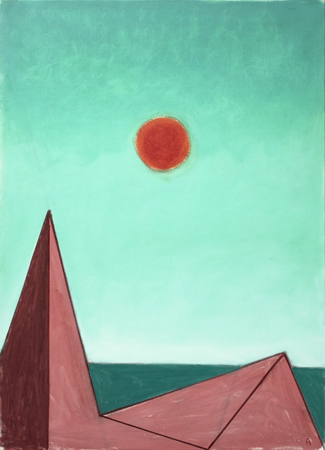 , 'Red Sun (de Chirico),' 2017, Bookstein Projects