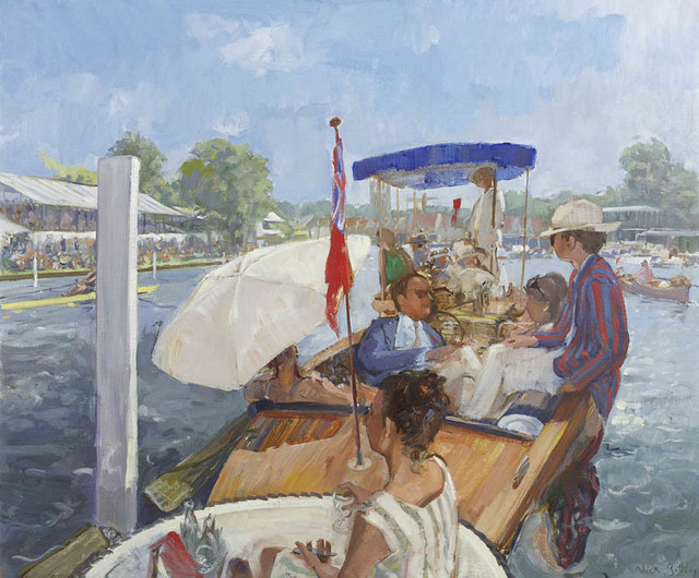 , 'On the River at Henley,' 2017, Portland Gallery