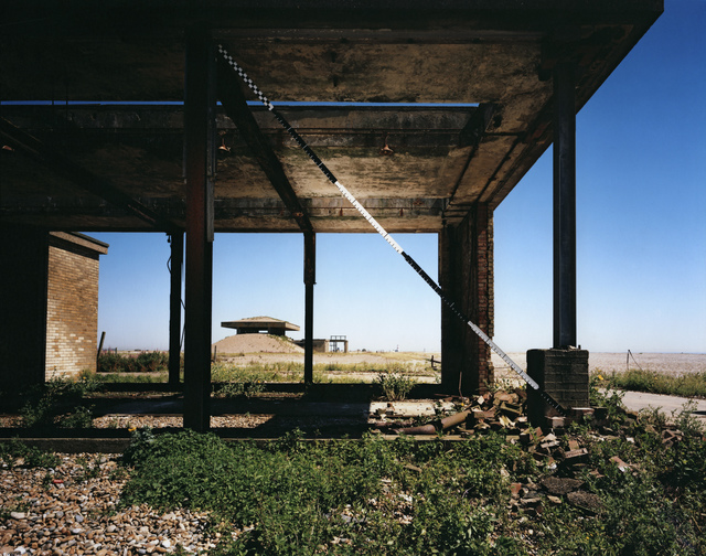 , 'Blind Landing, H-bomb Test Facility, Orford Ness, Suffolk, UK,' 2013, Paradise Row