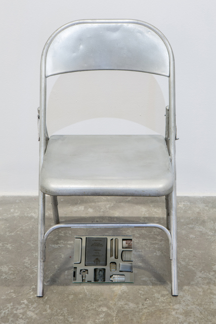 , 'Private Assortment Series, 2011-2013, Metal Chair,' 2013, Green Art Gallery