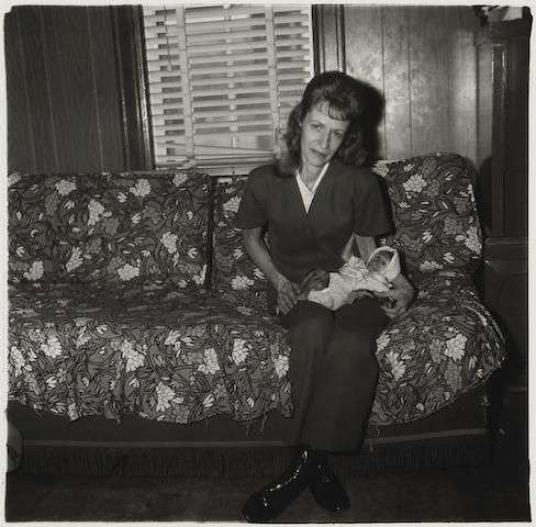 , 'A Woman with her baby monkey, N.J.,' 1971, Robert Berman Gallery