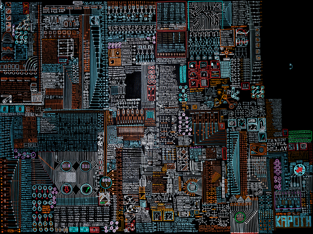 , 'Motherboard,' 2016, Galleri Duerr