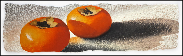, 'Three Persimmons,' 2015, Verne Collection, Inc.