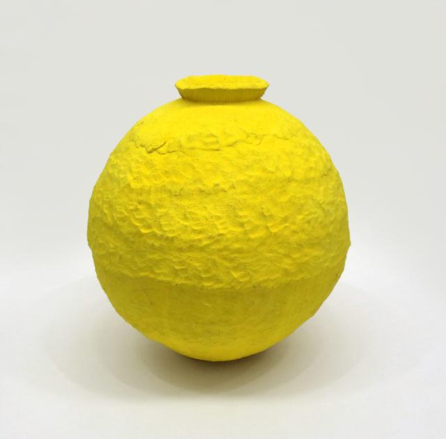 Trevor King, 'Yellow Water Jar #1', 2019, David Klein Gallery