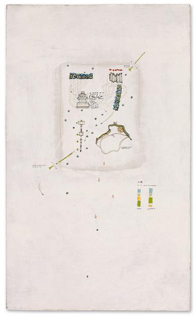, 'In caso in caso di incidenti sul lavoro, sul lavoro,' 1964, Galerie Michael Hasenclever
