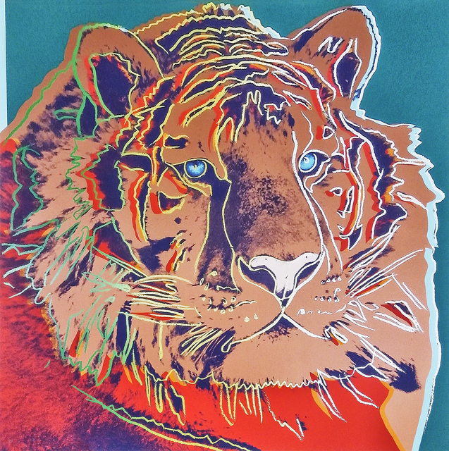 Andy Warhol, 'Siberian Tiger, from Endangered Species', 1983, Tate Ward Auctions