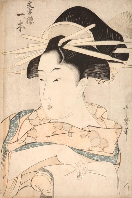 Kitagawa Utamaro, 'Hitomoto of the Monjiro', ca. 1798, Ronin Gallery