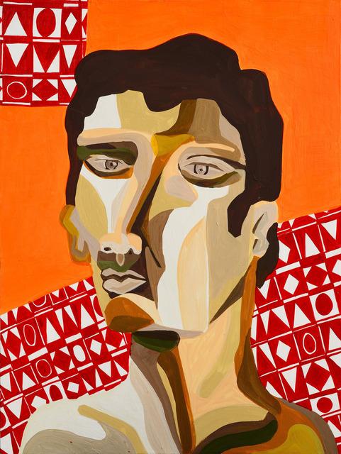 , 'Self Portrait Study,' 2014, Antonio Colombo