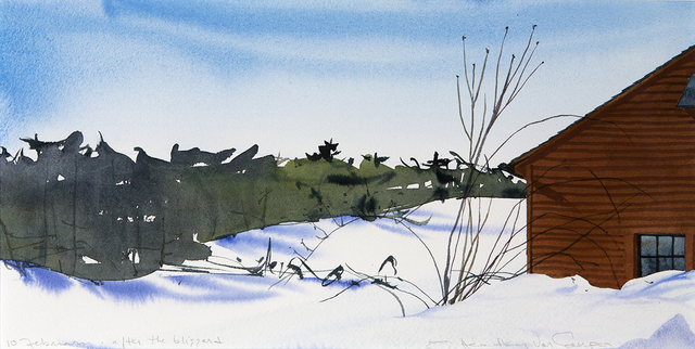 , '10 February, After the Blizzard,' , Dowling Walsh