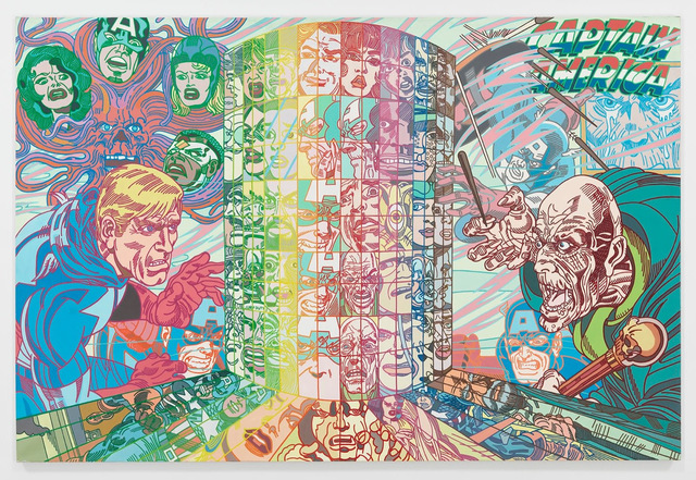 , 'Captain America,' 1988, Galerie Perrotin