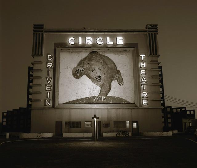 , 'Circle Drive-In Theater, Waco, Texas, January 7 #2,' 1981, Kopeikin Gallery