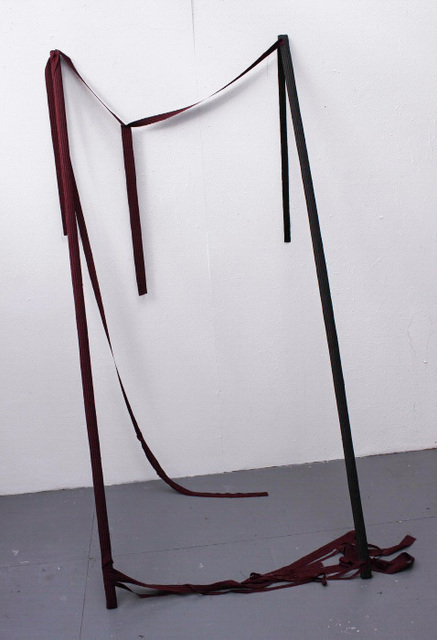 Aileen Kelly, 'Let Down', 2016, Sculpture, Wood and fabric., Alfa Gallery