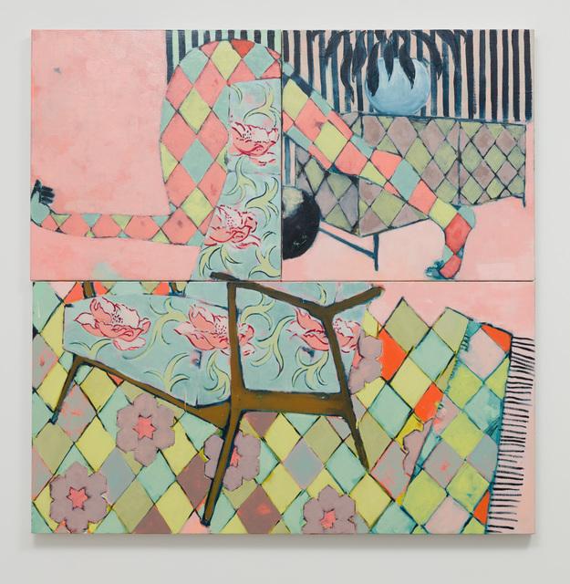 , 'Overbending Backwards,' 2018, Anat Ebgi
