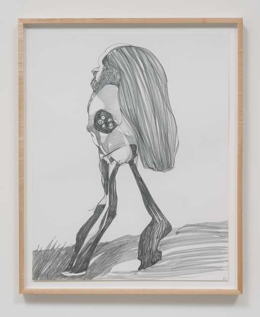 , 'Graphite Drawing #8,' 2014, Susanne Vielmetter Los Angeles Projects
