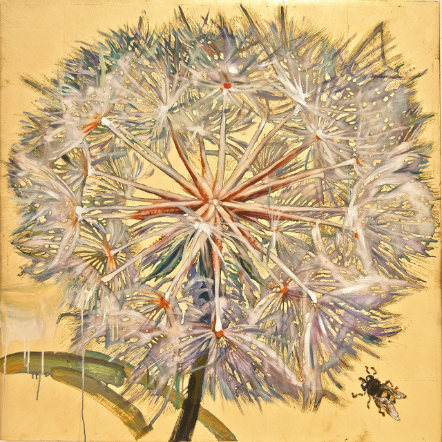 , 'Dandelion with Bee 4/9,' , Gail Severn Gallery