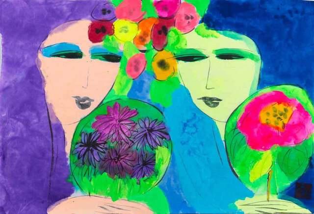 , 'Purple Twin, Blue Twin,' , Catto Gallery