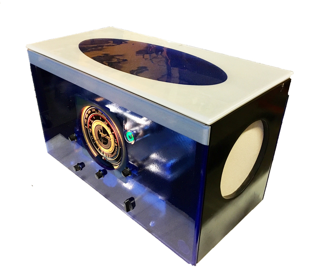 , 'Sparton Radio Chassis with Custom Glass Case,' Chassis from 1937 and Custom Glass Case made in 2017, Palette Contemporary Art and Craft