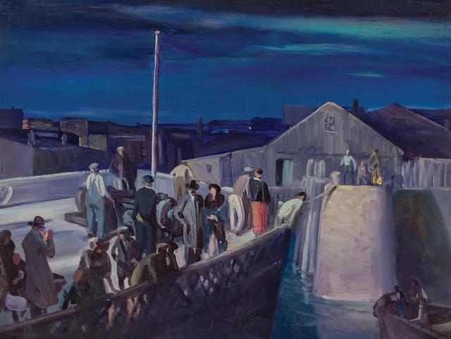 , 'Midnight Landing,' ca. 1943, WOLFS