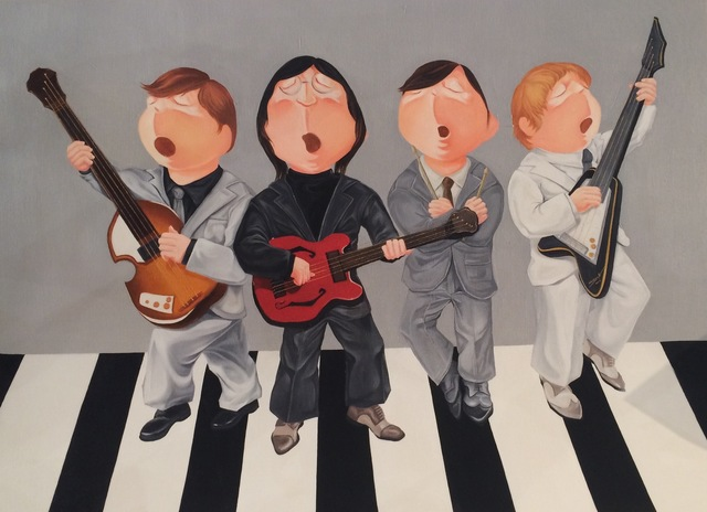 , 'The Beatles,' , Ode to Art