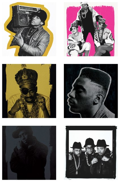 , 'Legends of Hip Hop LL Cool J, Slick Rick, Run-D.M.C., Big Daddy Kane, Chuck D, Salt 'N Pepa,' 2017, Alpha 137 Gallery