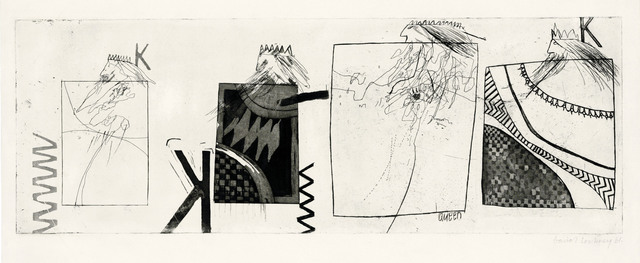 David Hockney, 'Three Kings and a Queen', 1961, Christie's