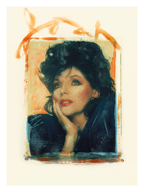 Gary Bernstein, 'Joan Collins', 1986, Mixed Media, Photo-Transfer, The Archives Store