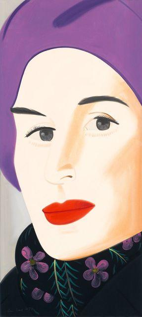 , 'Purple Hat (Ada),' 2017, Galerie Ernst Hilger