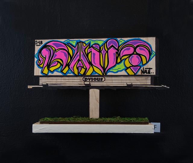 , 'Billboard F,' 2018, EWKUKS